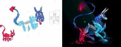 Bak Disulap 10 Gambar Anak Anak Ini Berubah Jadi Kartun Lucu Kayak